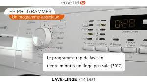 Seche Linge Petite Dimension by Lave Linge Hublot Essentiel B 714 Dd1 Youtube