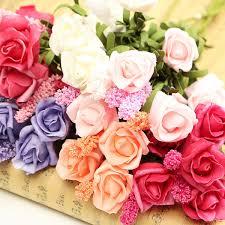 Peony Floral Arrangement by Online Get Cheap Rose Arrangement Aliexpress Com Alibaba Group