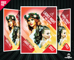 download ladies night party flyer free psd psddaddy com