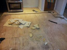 Best Way To Clean Walls by Our Kitchen Floor Demolition Has Begun Ian Francis