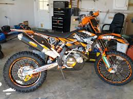 new to me ktm exc 530 electric fan required 250 530 exc mxc