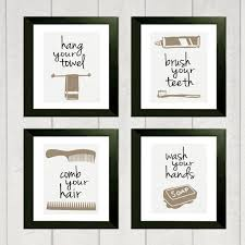 chevron bathroom ideas chevron bathroom wall printable 8 50 via etsy bathroom