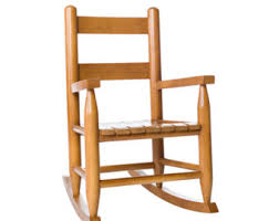 Wooden Rocking Chair Kids Childs Rocking Chair Etsy