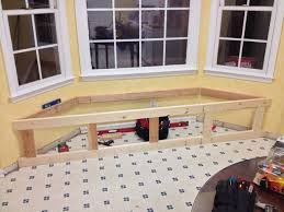 Diy Bench With Storage Build A Window Seat With Storage 7 Steps With Pictures