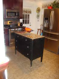 How To Kitchen Island 83 Amazing How To Make A Kitchen Island Out Of Dresser Home Design