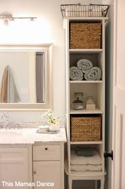 small bathroom cabinet storage ideas 42 cool small bathroom storage organization ideas small bathroom