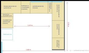 implantation type cuisine besoin avis projet cuisine plans 3d 4 messages
