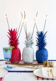 Pineapple Decoration Ideas 15 Festive Diy Table Centerpiece For 4th Of July With Lots Of