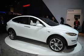 butterfly doors tesla model x crossover the gullwing electric suv is here by car
