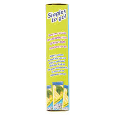 wyler s light singles to go nutritional information wyler s light lemonade drink mix sticks 10 count 1 36 oz walmart com