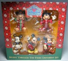 mickey mouse through the years ornament set jim shore