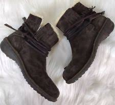 ugg womens caspia ankle boots ugg australia wedge lace up ankle boots for ebay