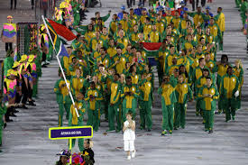 Former Flag Of South Africa Olympics Three Thoughts On Rio U0027s Opening Ceremony Si Com