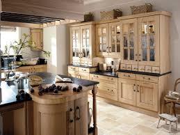 country kitchen decorating ideas glass door cooker hood black