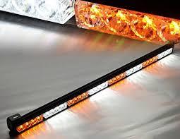 warning light bar amber v sek 35 5 led traffic adviser advising emergency warning strobe