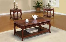 brown coffee table set cherry coffee table room focal point jmlfoundation s home