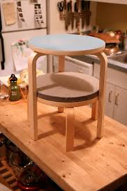 How To Make Bar Stools How To Make A Great Side Table From Ikea Frosta Stools U2014 Home