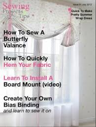 the october issue of sewing projects and tips mag available on