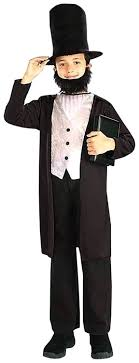 kids costumes kids abraham lincoln costume medium toys