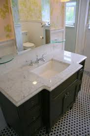 White Carrera Marble Bathroom - white carrera marble guest bath rooms bath pinterest bathroom