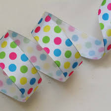 polka dot ribbon shop blue and pink polka dot ribbon on wanelo
