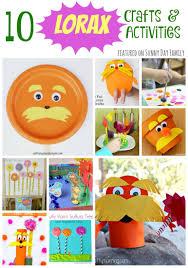 10 lorax crafts u0026 activities for preschoolers lorax activities