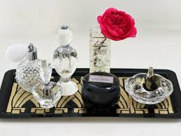 Deco Art Deco Diy Art Deco Vanity Tray Hgtv