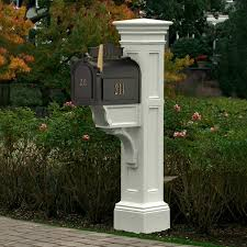 Pedestal Mailbox Decorative Mailbox Post Ideas U2014 Home Design Stylinghome Design Styling