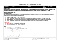 year 6 science medium term planning light by cellerdore