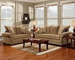 Brown Fabric Sofa Set Light Brown Fabric Classic Sofa U0026 Loveseat Set W Options