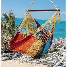 hammock chair swing with footrest island life hammock co