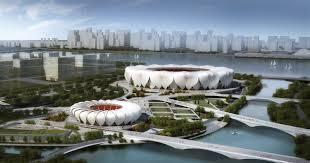 nbbj hangzhou sports park the proving ground