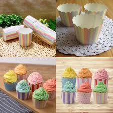 50pcs mini paper baking cup liners muffin cupcake cases wrapper
