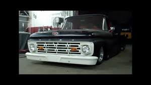 Old Ford Unibody Truck - josh u0027s bagged 1964 ford f1 pick up youtube