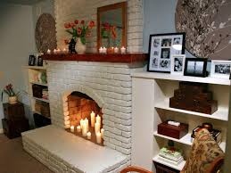 chalk painted fireplace mantels best painted fireplace mantels