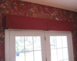 Pleated Valance Window Treatment Ideas For French Doors Valances Pleated