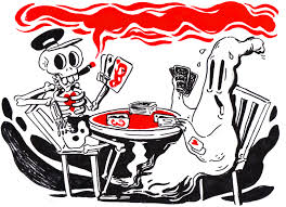 halloween card game halloween u2014 mette ilene holmriis