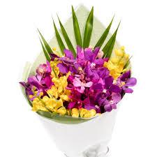 Orchid Bouquet Orchid Bouquet Melbourne Flowers Online
