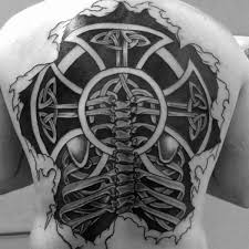 100 celtic cross tattoos for ancient symbol design ideas