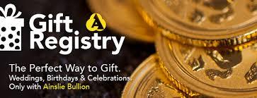 the gift registry gift registry with ainslie bullion