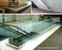 Glass Banisters Cost Stronger Stair Glass Railing Prices Shanghai Buy Stair Glass