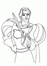 prince edward drew sword enchanted coloring pages bulk color