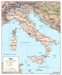 Italy Map By Rail Italy by Italy Maps Perry Castañeda Map Collection Ut Library Online