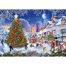 the tree 1000 festive jigsaw puzzle