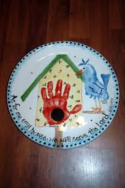 126 best plates images on pinterest footprint crafts hand