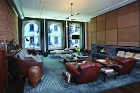 Tribeca Loft Scarpidis Brings And Industrial Chic Vibe To A Floor Through