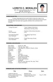 free resume templates for high students with no work experience basic resume template for high graduate sle high