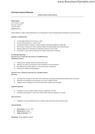 sle resume for law professors criminal justice resume criminal justice resume sles professor sle