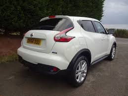 nissan juke used white pearl nissan juke for sale herefordshire