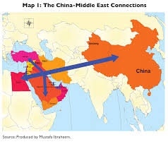 The Middle East Map by China And The Middle East More Than Oil All China Review